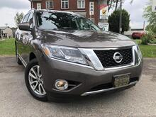 2016_Nissan_Pathfinder_SL 4WD-Htd Lther Seats and Wheel-7 Pass-Pwr Liftgate_ London ON