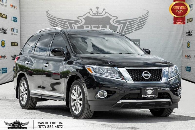 2016 Nissan Pathfinder SL, AWD, NO ACCIDENT, 7 PASS, NAVI, 360 CAM