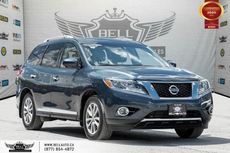 2016 Nissan Pathfinder SL, AWD, NO ACCIDENT, NAVI, 360 CAM, B.SPOT Toronto ON
