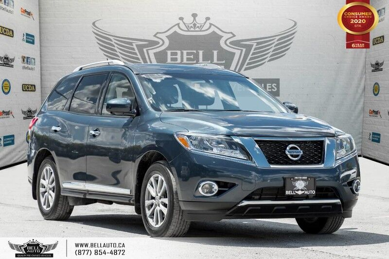 2016 Nissan Pathfinder SL, AWD, NO ACCIDENT, NAVI, 360 CAM, B.SPOT