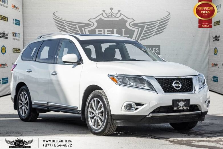 2016 Nissan Pathfinder SL, NO ACCIDENT, AWD, 7 PASS, NAVI, 360 CAM, B.SPOT Toronto ON