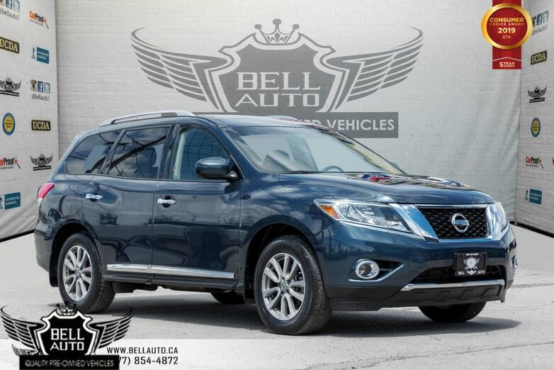 2016 Nissan Pathfinder SL, PREMIUM TECH, 7 PASS, AWD, NAVI, BLINDSPOT, 360 CAM, PANO ROOF Toronto ON