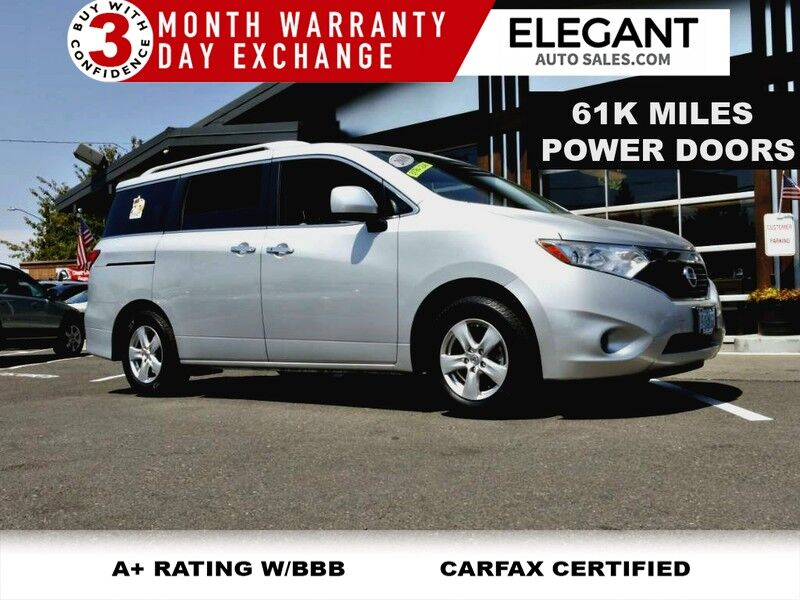 2016 Nissan Quest SV SUPER CLEAN BACKUP CAMERA PW DOORS
