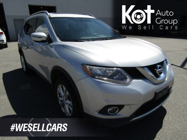 2016 Nissan ROGUE SV! AWD! SUNROOF! BLUETOOTH! HEATED SEATS! 1 OWNER! LOCAL UNIT! Kelowna BC