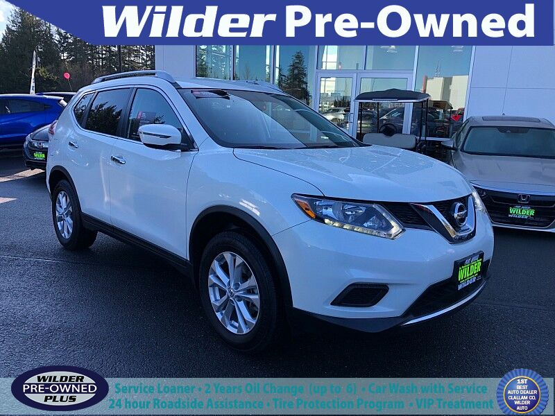 2016 Nissan Rogue 4d SUV AWD SV Port Angeles WA