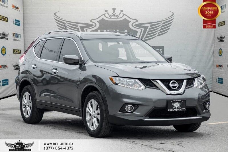 2016 Nissan Rogue, AWD, BACK-UP CAM, PANO ROOF, HEATED SEATS, PUSH START SV