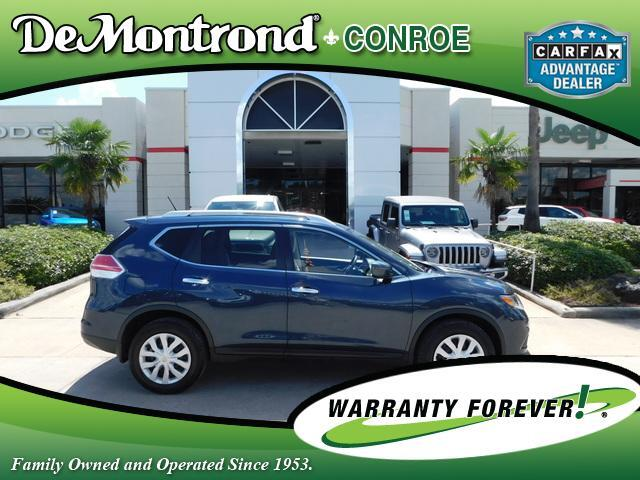 2016 Nissan Rogue FWD 4dr S Conroe TX