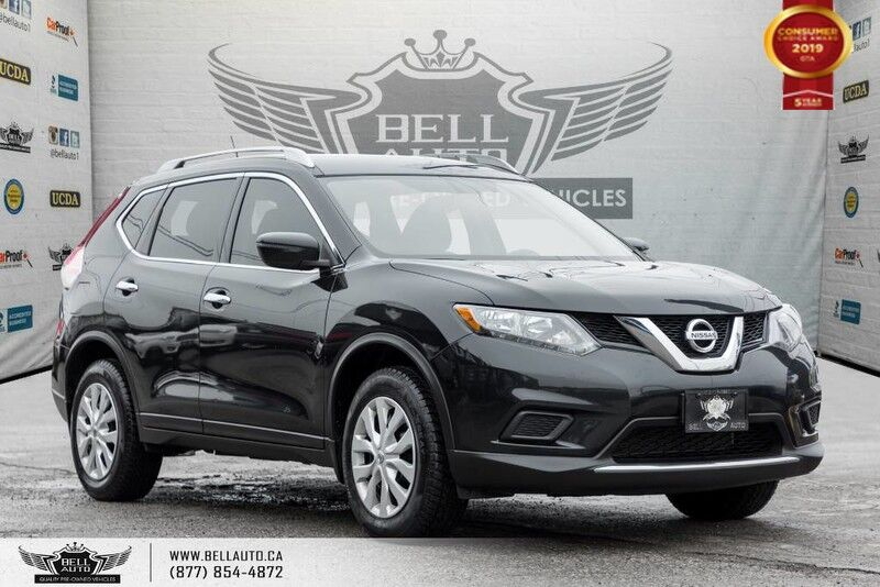2016 Nissan Rogue S, AWD, BACK-UP CAM, BLUETOOTH, SIRIUS XM, USB, TRACTION CONTROL