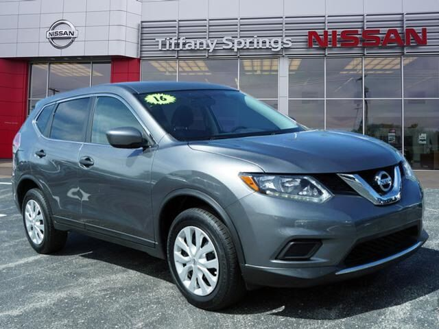 2016 Nissan Rogue S CERTIFIED