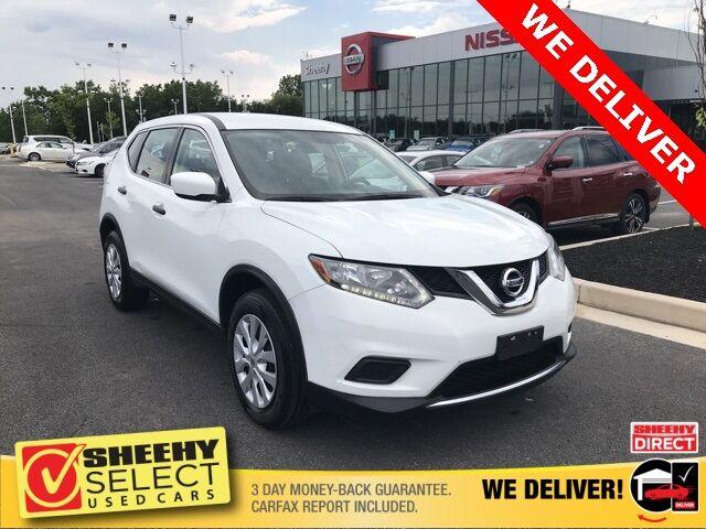 2016 Nissan Rogue S White Marsh MD