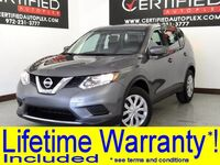 Nissan Rogue S REAR CAMERA BLUETOOTH POWER LOCKS POWER WINDOWS POWER MIRRORS 2016