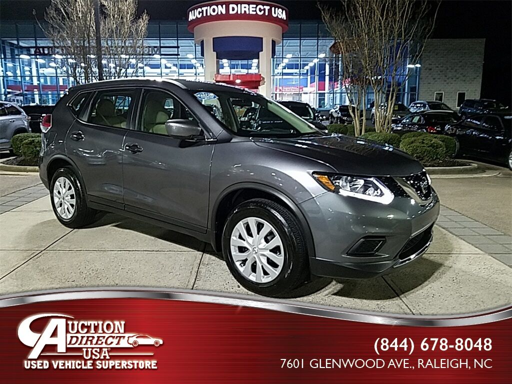 used 2016 nissan rogue s raleigh nc 28418394