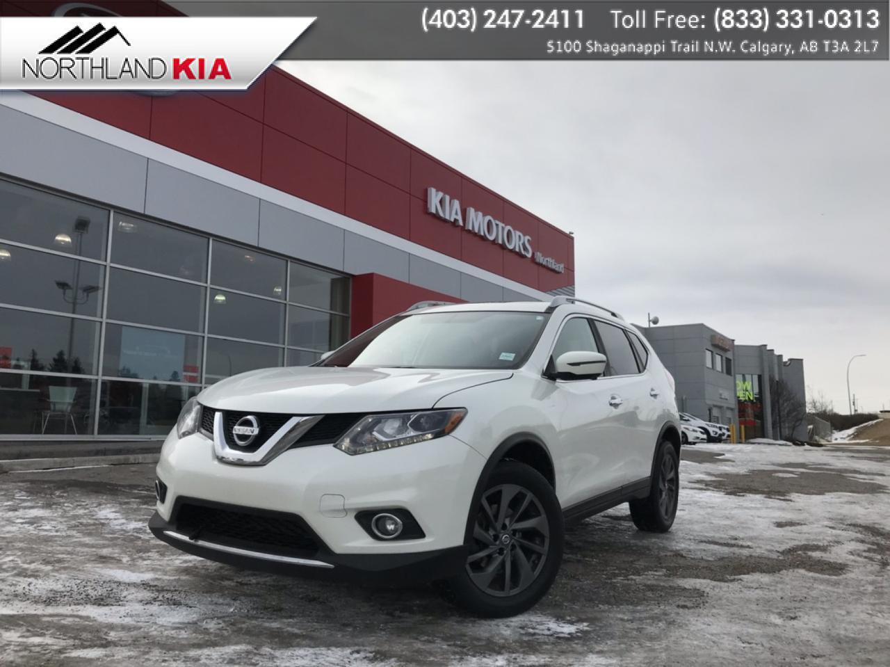 2016 Nissan Rogue SL AWD, 360 BACKUP CAMERA, NAV, HEATED SEATS Calgary AB