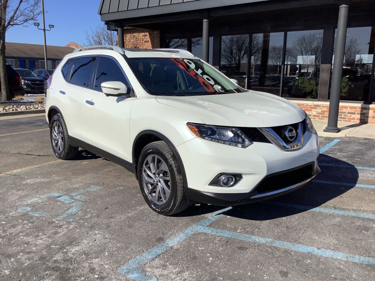 2016 Nissan Rogue SL AWD 4dr Crossover Chesterfield MI