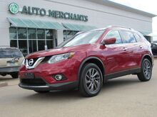 2016_Nissan_Rogue_SL AWD LEATHER, BLIND SPOT, KEYLESS START, BACKUP CAM, UNDER FACTORY WARRANTY_ Plano TX