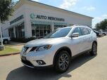 2016 Nissan Rogue SL AWD LEATHER, PANORAMIC ROOF, BLIND SPOT, BACKUP CAMERA, HTD FRONT STS, KEYLESS START, NAVIGATION