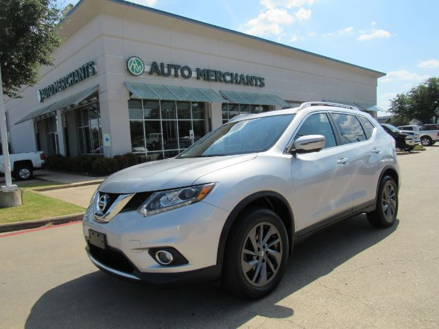 2016 Nissan Rogue SL AWD LEATHER, PANORAMIC ROOF, BLIND SPOT, BACKUP CAMERA, HTD FRONT STS, KEYLESS START, NAVIGATION Plano TX
