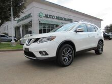 2016_Nissan_Rogue_SL AWD LEATHER, PANORAMIC SUNROOF, NAVIGATION, SAT RADIO, HTD FRONT STS, BLUETOOTH, UNDER WARRANTY_ Plano TX