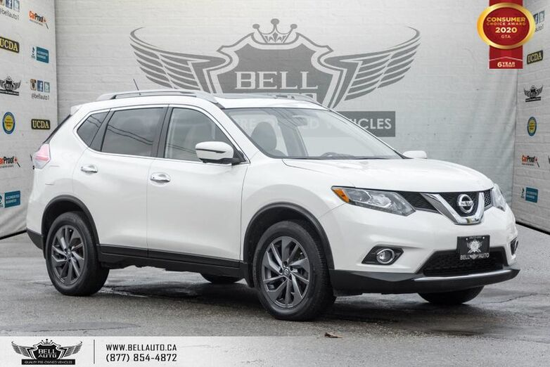 2016 Nissan Rogue SL, AWD, NO ACCIDENT, NAVI, 360 CAM, B.SPOT, PANO ROOF Toronto ON