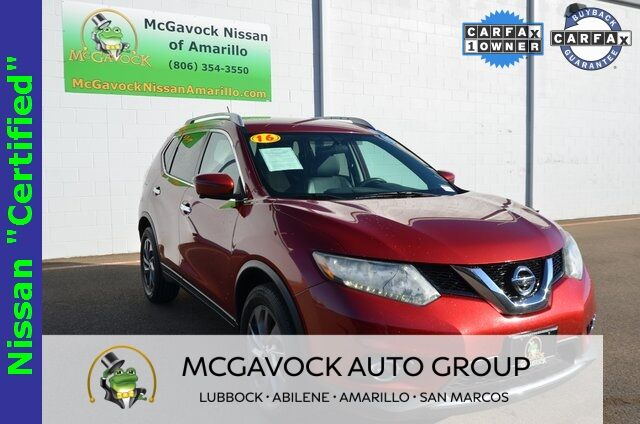 2016 Nissan Rogue SL Below Market Savings Amarillo TX