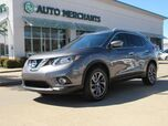2016 Nissan Rogue SL FWD LEATHER, NAVIGATION, SUNROOF, BLIND SPOT, PREMIUM STEREO, BLUETOOTH, UNDER FACTORY WARRANTY