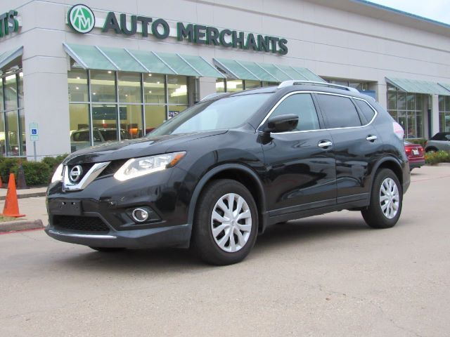 2016 Nissan Rogue SL FWD NAV, HTD SEATS, BLUETOOTH, BACKUP CAM, AUX INPUT, PUSH BUTTON, SAT RADIO, LEATHER Plano TX