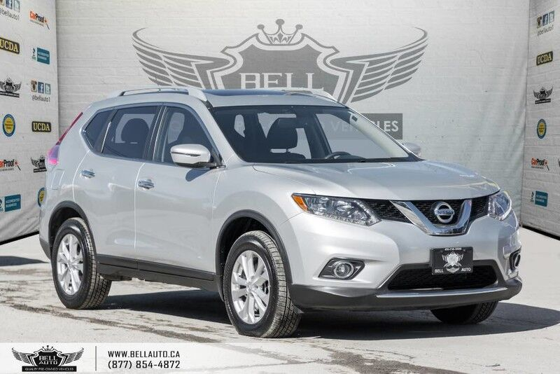 2016 Nissan Rogue SV, AWD, BACK-UP CAM, PANO ROOF, HEATED SEATS, BLUETOOTH, VOICE COMMAND