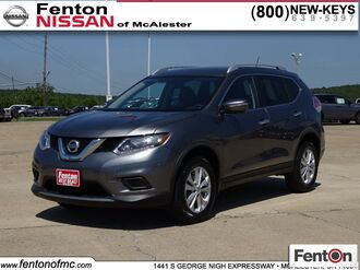 2016_Nissan_Rogue_SV_ McAlester OK