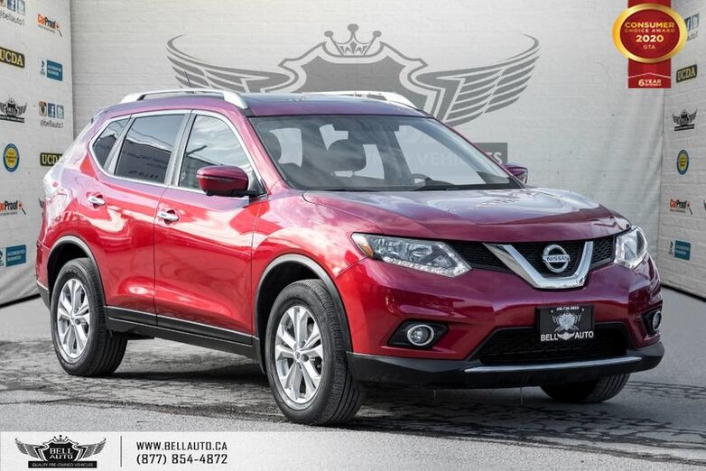 2016 Nissan Rogue SV, NO ACCIDENT, AWD, NAVI, 360 CAM, B.SPOT, 360 SENSOR Toronto ON
