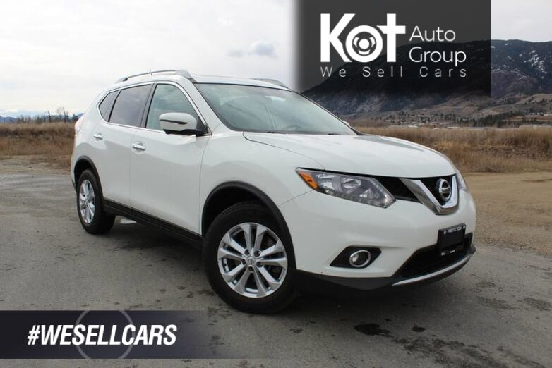 2016 Nissan Rogue SV, NO ACCIDENTS, 3rd Row Seating, Navigation Kelowna BC