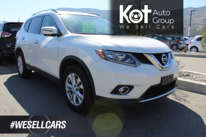 2016 Nissan Rogue SV, One Owner, No Accidents Kelowna BC