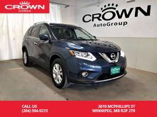 2016_Nissan_Rogue_SV/awd/low kms/ push start button/ heated seats/panoramic sunroof/ navigation/ back up camera_ Winnipeg MB