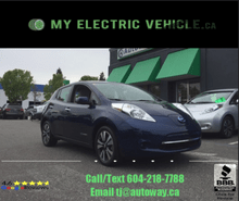 2016_Nissan_SV_SV w/ Quick Charge and Navigation_ Coquitlam BC