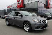2016 Nissan Sentra S, Auto, Low Km's, Good Fuel Efficiency, and Brand New All Season Tires
