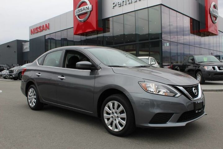 2016 Nissan Sentra S, Auto, Low Km's, Good Fuel Efficiency, and Brand New All Season Tires Kelowna BC