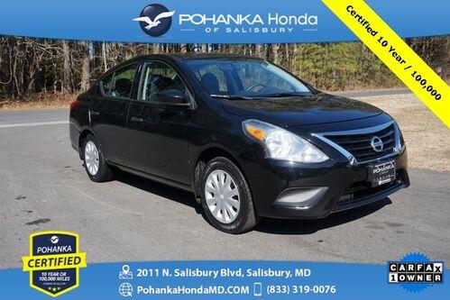 2016_Nissan_Versa_1.6 S ** Pohanka Certified 10 Year / 100,000  **_ Salisbury MD