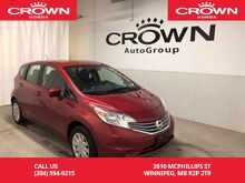 2016_Nissan_Versa Note_S /BACK UP CAMERA/BLUETOOTH/_ Winnipeg MB