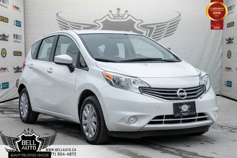 2016 Nissan Versa Note S BLUETOOTH CONNECTIVITY, BACKUP CAMERA Toronto ON