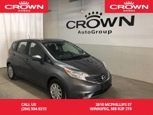 2016_Nissan_Versa Note_S_ Winnipeg MB