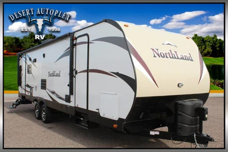 2016 Pacific Coachworks Northland 27RLSS Single Slide Travel Trailer Treated w/Cilajet Anti-Microbial Fog Mesa AZ