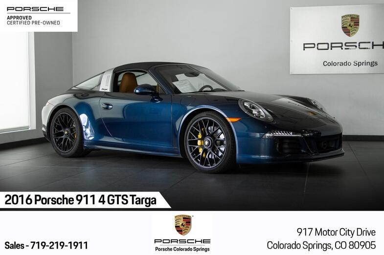 2016 Porsche 911 911 4 GTS Targa Colorado Springs CO
