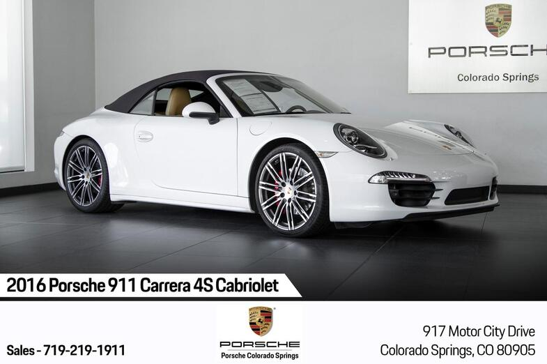 2016 Porsche 911 911 Carrera 4S Cabriolet Colorado Springs CO
