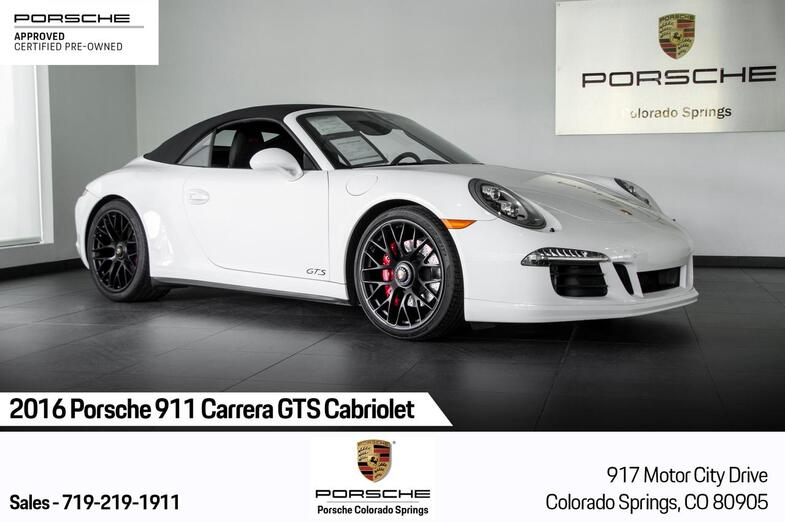2016 Porsche 911 911 Carrera GTS Cabriolet Colorado Springs CO