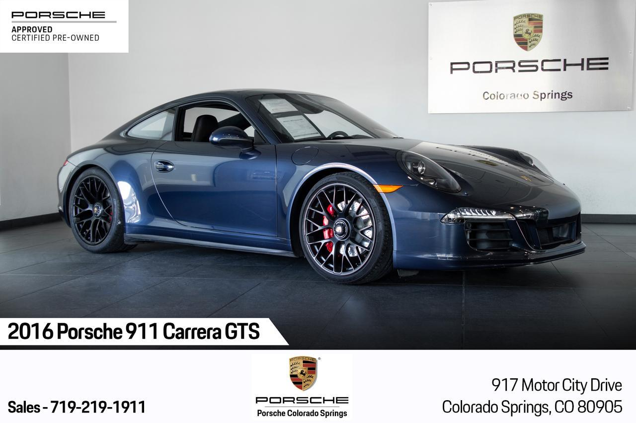 2016 Porsche 911 Carrera Gts Colorado Springs Co