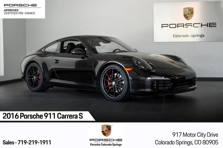 2016 Porsche 911 911 Carrera S Colorado Springs CO