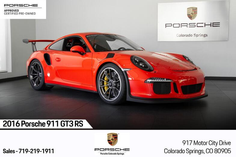 2016 Porsche 911 911 GT3 RS Colorado Springs CO