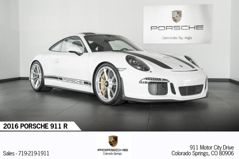 2016 Porsche 911 911 R Colorado Springs CO