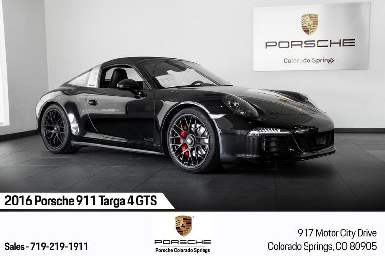 2016 Porsche 911 911 Targa 4 GTS Colorado Springs CO