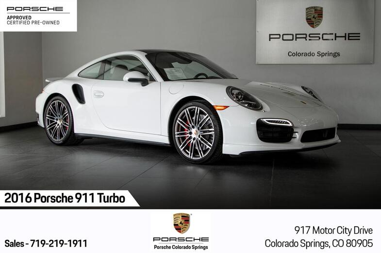 2016 Porsche 911 911 Turbo Colorado Springs CO