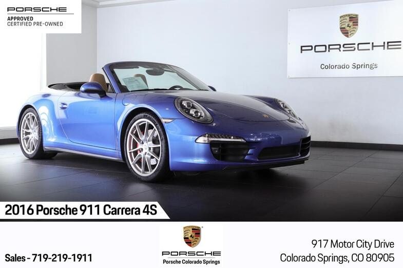 2016 Porsche 911 Carrera 4S Colorado Springs CO